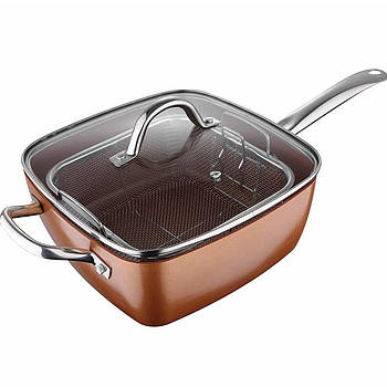 Сковородка-фритюрница Unique UN-5251-24cm