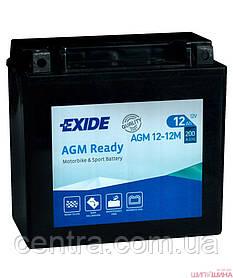 Мото аккумулятор EXIDE AGM12-12M