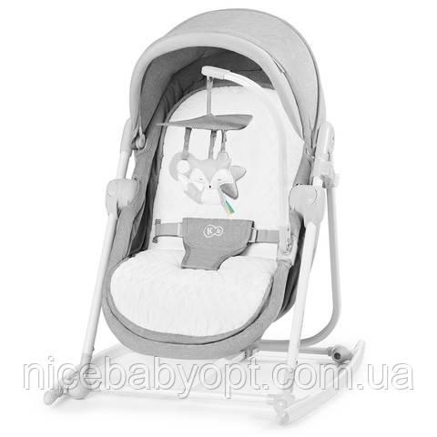 Шезлонг-качалка 5 в 1 Kinderkraft Unimo Grey
