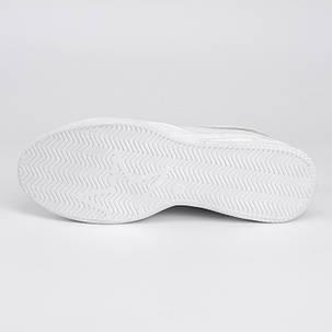 Кеды белые с брошками 007-01, фото 2
