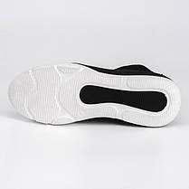 Кроссовки высокие черная замша 001-03, фото 2