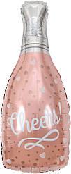 Фол шар фигура Бутылка шампанского Cheers (Китай)