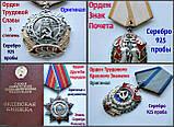 Ордена Вітчизняної війни 2 ступеня Черненковская отечка ВВВ Оригінали Срібло 925 проби, фото 7