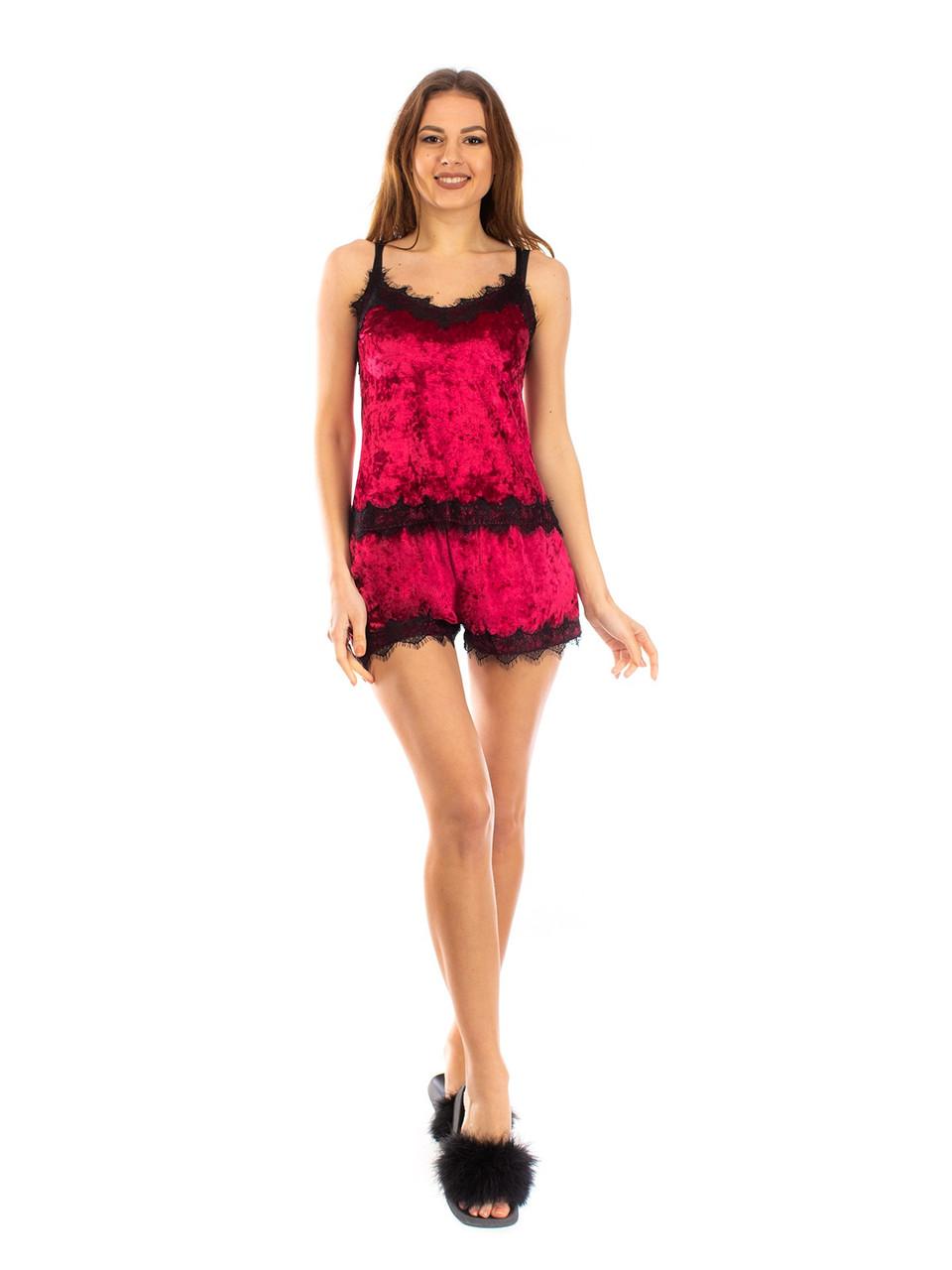 Женская красивая пижама двойка майка и шорты 42 44 46 48 размеры есть цвета