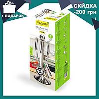 Кухонный набор из 7 предметов Maestro MR-1540 | лопатка | вилка для мяса | половник | шумовка | картофелемялка, фото 1