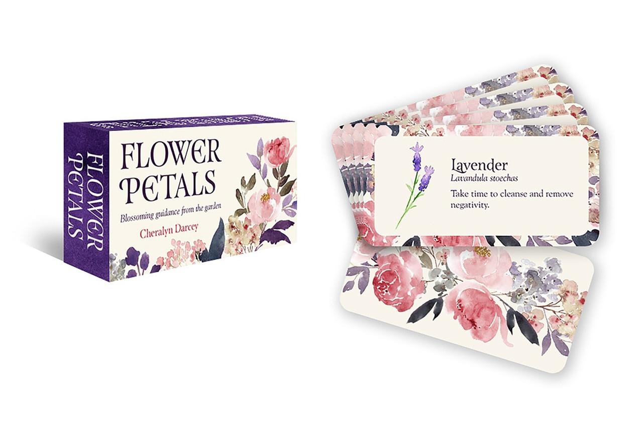 Flower Petals Inspiration Cards/ Карты Вдохновения Цветочные Лепестки