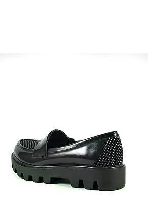 Туфли женские Elmira Х7-108Т-4 черные (36), фото 2
