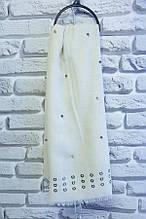 Шарф женский молодежный размер 180х70 купить оптом со склада 7км Одесса