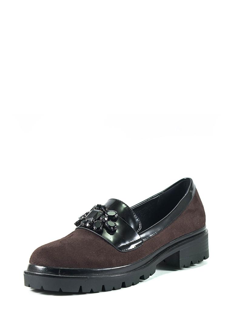 Туфли женские Elmira Х7-101-3 коричневые (36)