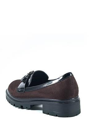 Туфли женские Elmira Х7-101-3 коричневые (36), фото 2