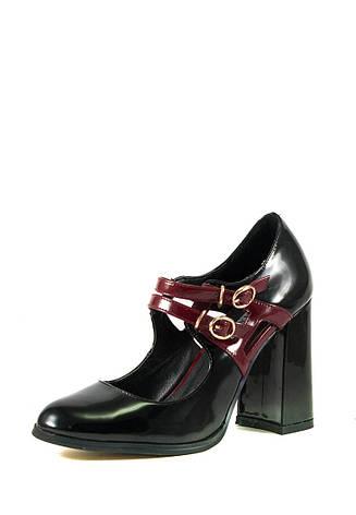 Туфли женские Elmira С7-104Т-10 черные (38), фото 2
