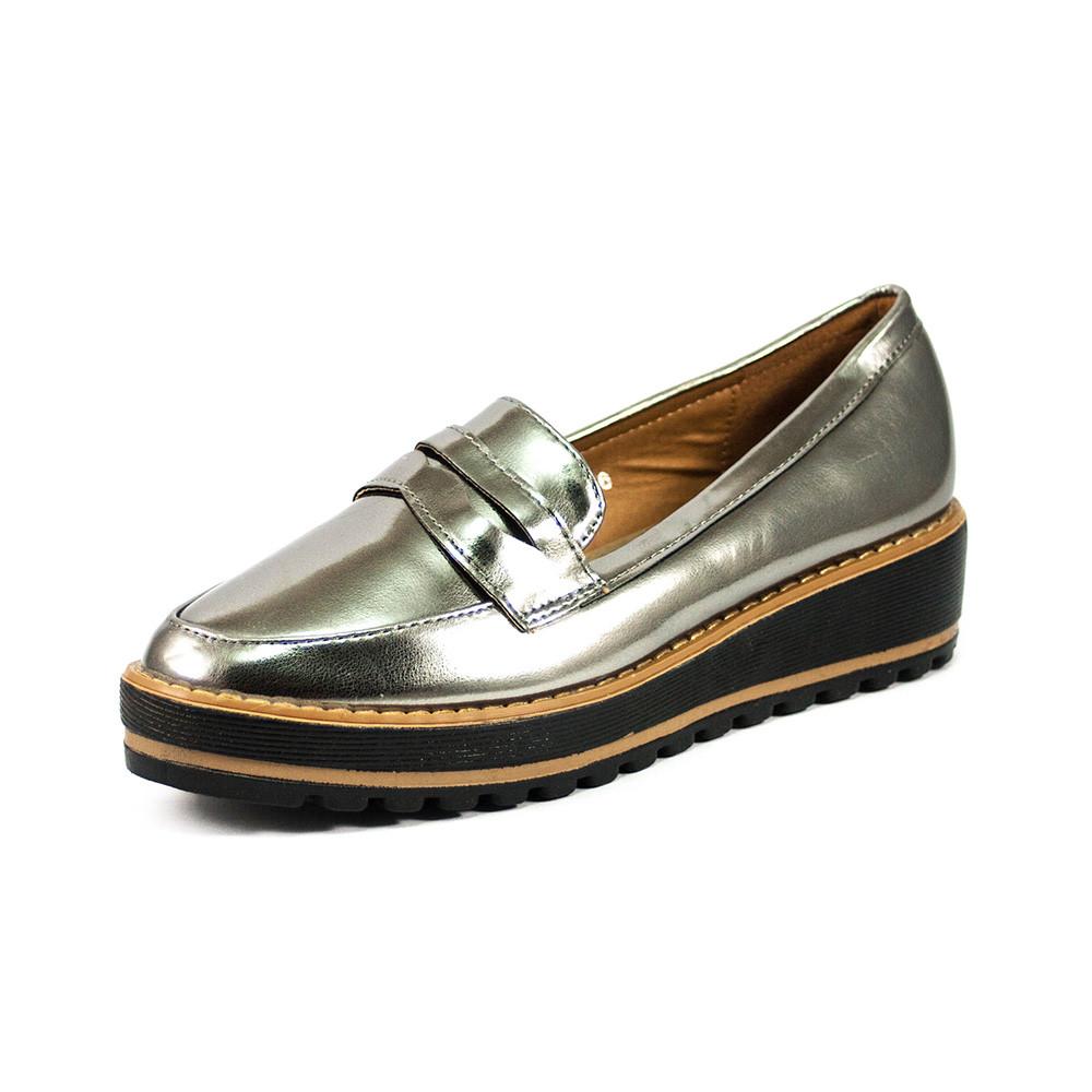 Туфли женские Sopra WH517 серебряные (40)