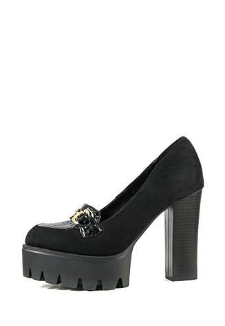 Туфли женские Elmira V5-193T черный (36), фото 2
