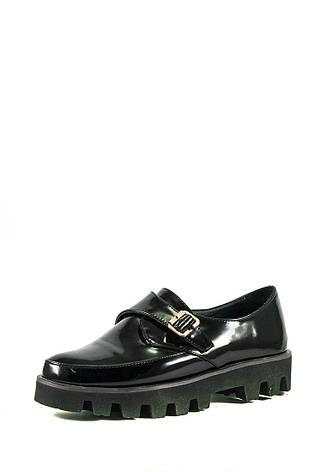 Туфли женские Elmira V5-116-T черные (36), фото 2