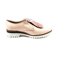 Туфли женские Tutto Shoes T3310 розовая кожа (36), фото 2