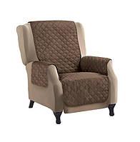 Двустороннее покрывало накидка для кресла Couch Coat 152917
