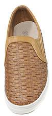 Слипоны женские Vivien Q5-259T коричневый (36), фото 3