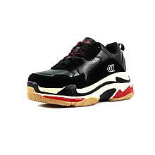 Кросівки жіночі Restime чорний 14125 (37)