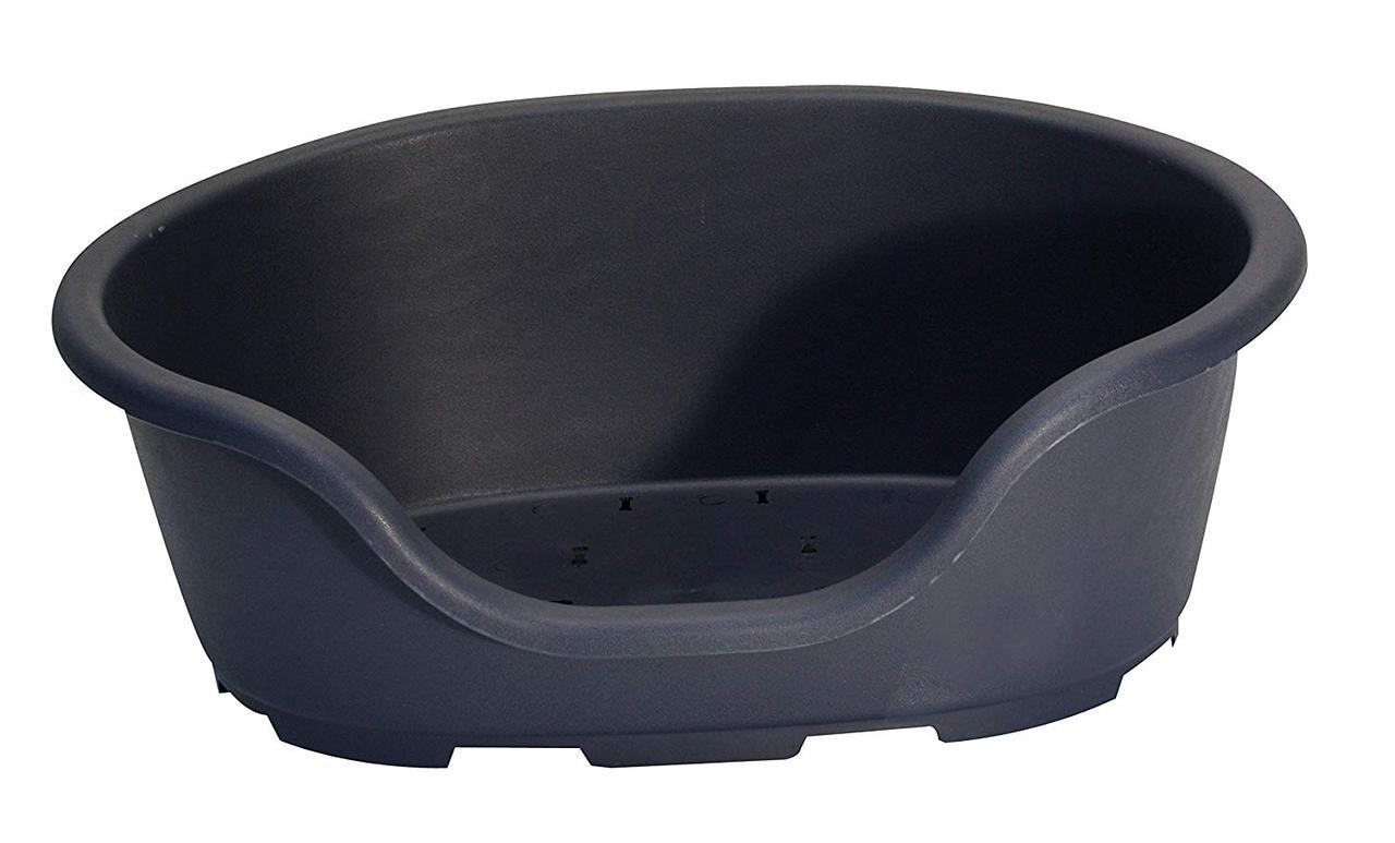 Пластиковая лежанка для собак 57*40*24 Croci MORFEO (синяя)