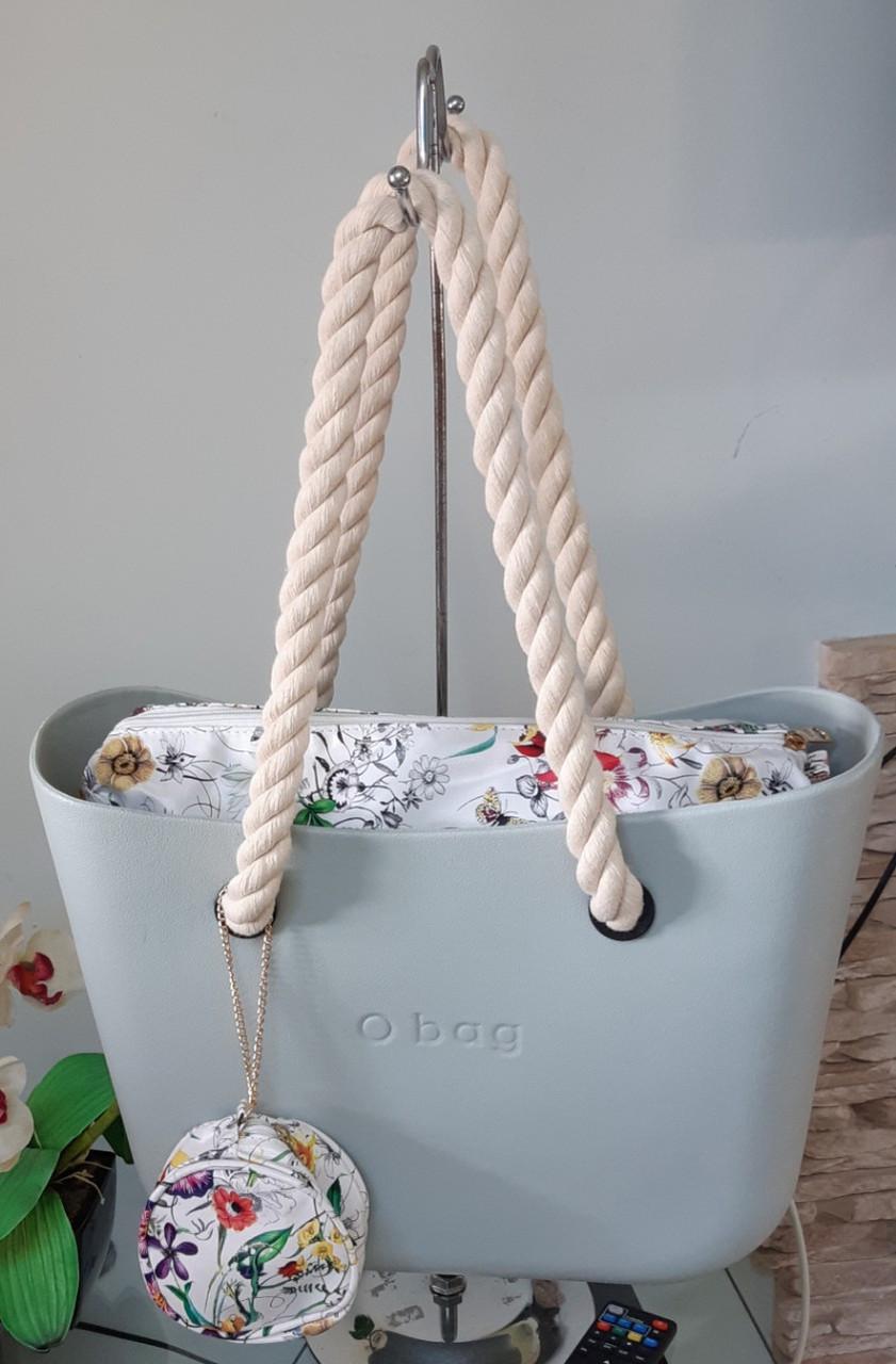 Женская Сумка O bag Obag Обег О бег Классик (комплект корпус, подкладка, ручки) Италия