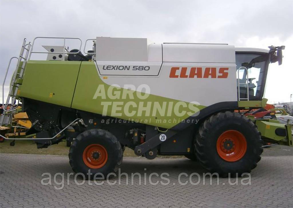 Комбайн CLAAS LEXION 580 2007 року
