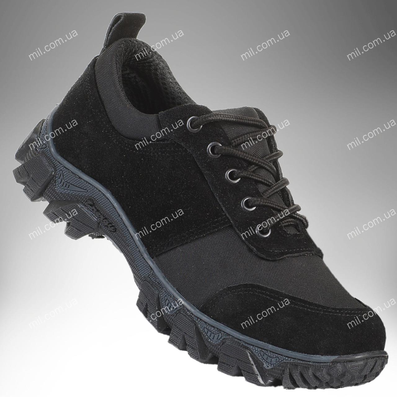 Военные кроссовки / демисезонная тактическая обувь PATRIOT (black)