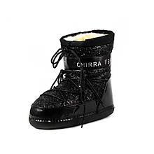 Дутыши женские Newaynac M-0011 черные (36)