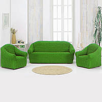 Накидка на диван Зеленая 170Х230 149724