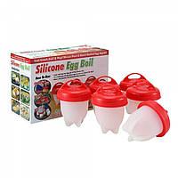 Силиконовые формочки для варки яиц без скорлупы набор из 6 штук Egg Boiler 149613
