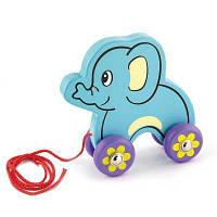 Каталка Viga Toys Слоник (50091)