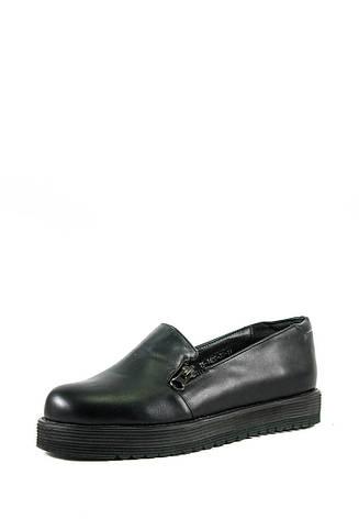 Туфли женские Elmira I5-140T черные (36), фото 2