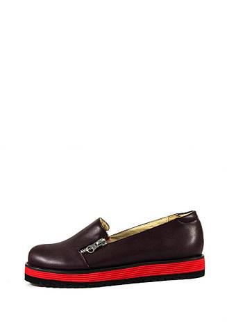 Туфли женские Elmira I5-134T бордовые (36), фото 2