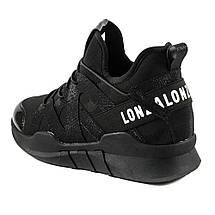 Кроссовки женские Lonza FLM7163-A черный (38), фото 2