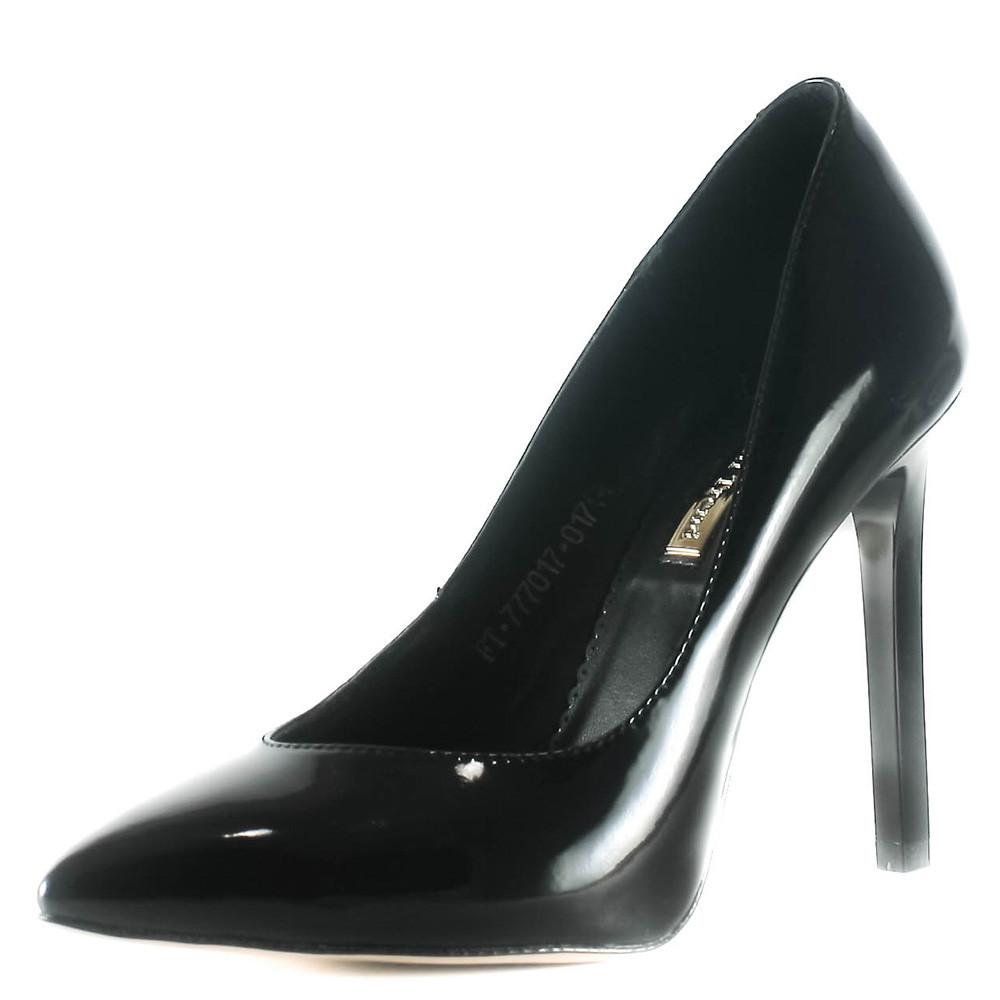 Туфли женские Foletti F-7 чл черный лак (40)