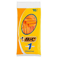 Bic 1 Sensitive станки для бритья /1 лезвие/ 10шт