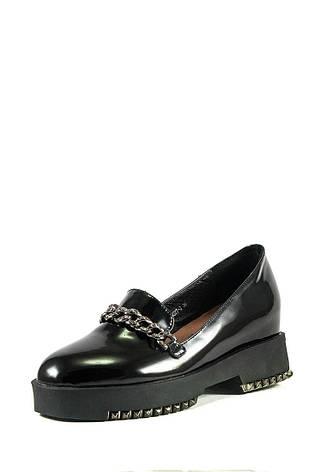 Туфли женские Elmira C7-102T-3 черные (38), фото 2