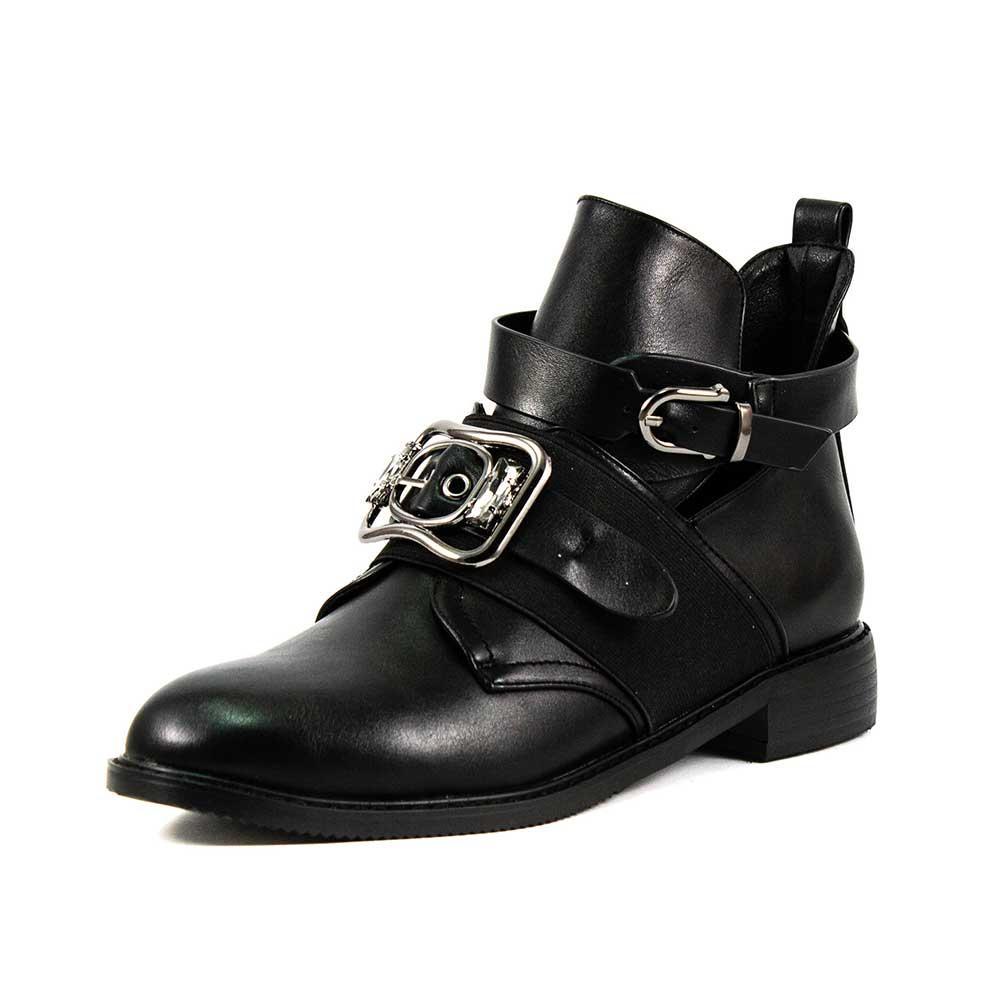 Ботинки демисезон женские Fabio Monelli C34-K348 черные (36)