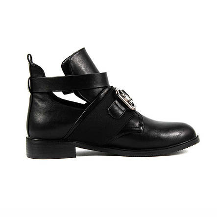 Ботинки демисезон женские Fabio Monelli C34-K348 черные (36), фото 2