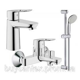 Grohe BauLoop 123214S набор смесителей для ванной S-Size (23337000+32815000+27598001)