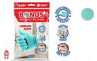 Bonus B036 рукавички гумові Comfort Glove 1 пара XL