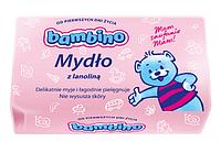 Bambino мыло детское с ланолином 100гр