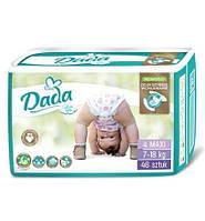 Dada Extra Soft подгузники детские 4 Maxi (7-18 кг) 46шт