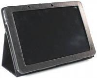 Черный чехол для Acer Iconia Tab A200/A210 из синтетической кожи., фото 1