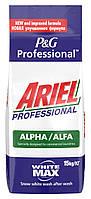 Порошок для стирки универсальный Ariel Professional 15 кг Alpha