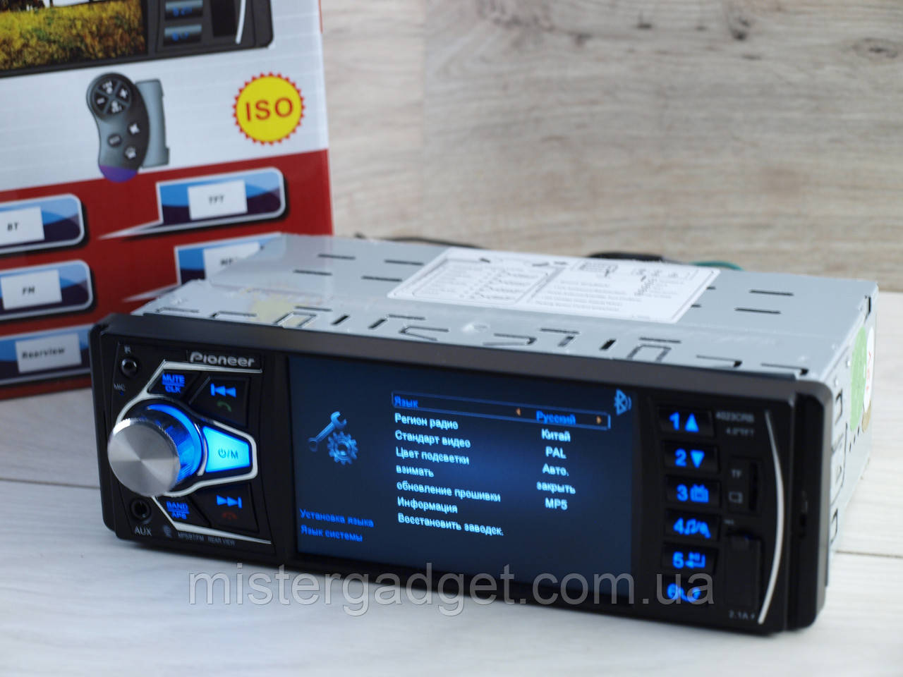 Автомагнитола Pioneer 4023CRB Bluetooth