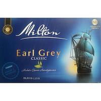 Чай Milton Earl Grey classic 80 пакетів