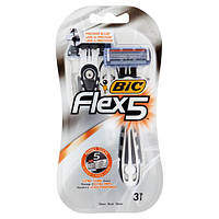 Bic Flex 5 Comfort станки для бритья /5 лезвий/ 3шт