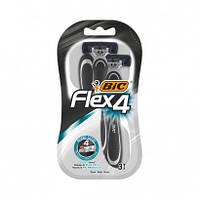 Bic Flex 4 Comfort станки для бритья /4 лезвия/ 3шт