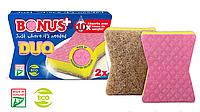 Bonus B146 губка для миття посуду Duo Sponge 2шт
