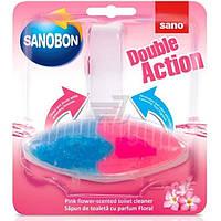 Sano Sanobon подвеска для унитаза Цветы 55г Двойное Действие